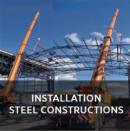 Montáž ocelových konstrukcí