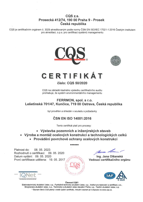 Certifikát 04